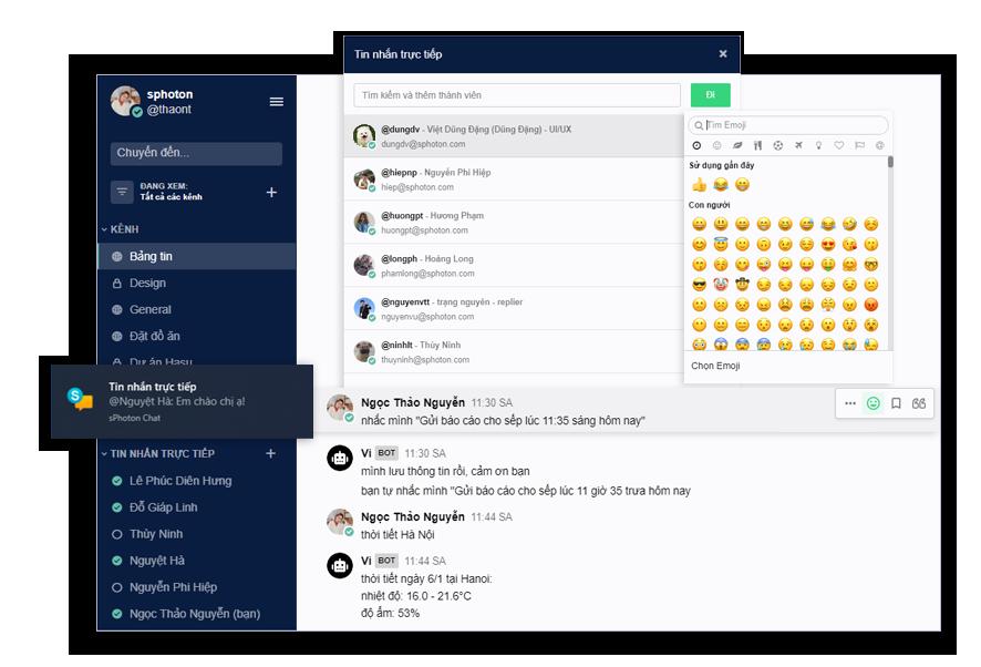 sPhoton chat